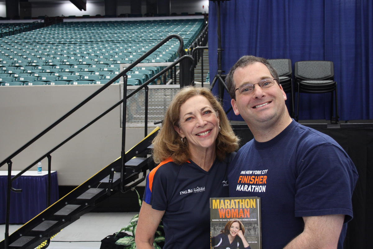 Rahn and Kathrine Switzer